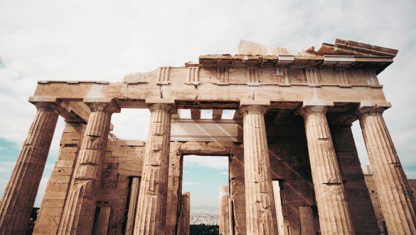 Athen Akropolis, Griechenland