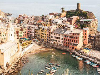 Vernazza, La Spezia, Italien