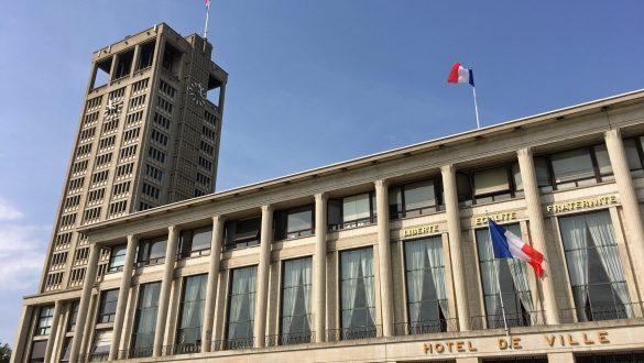Hotel de Ville, Le Havre, Frankreich