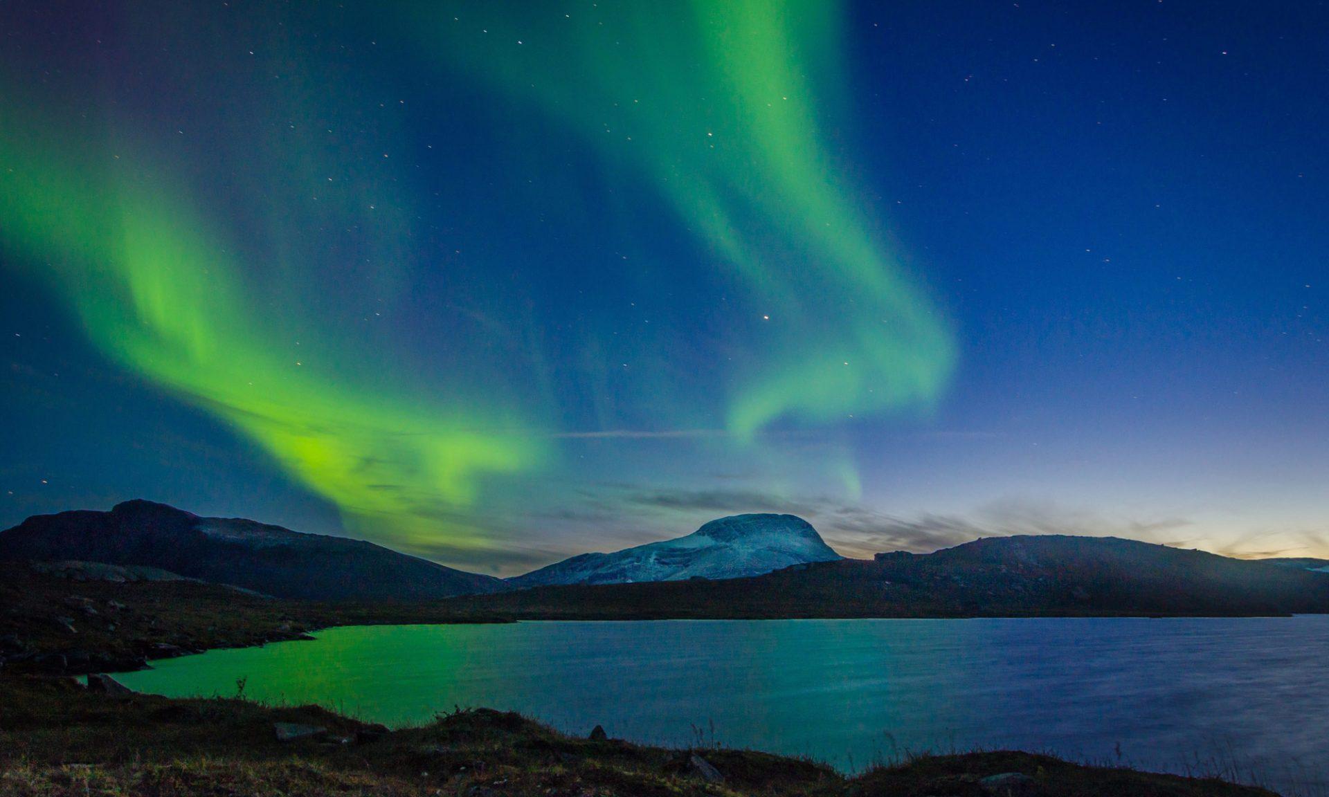 Polarlichter und Nordlichter, Schweden