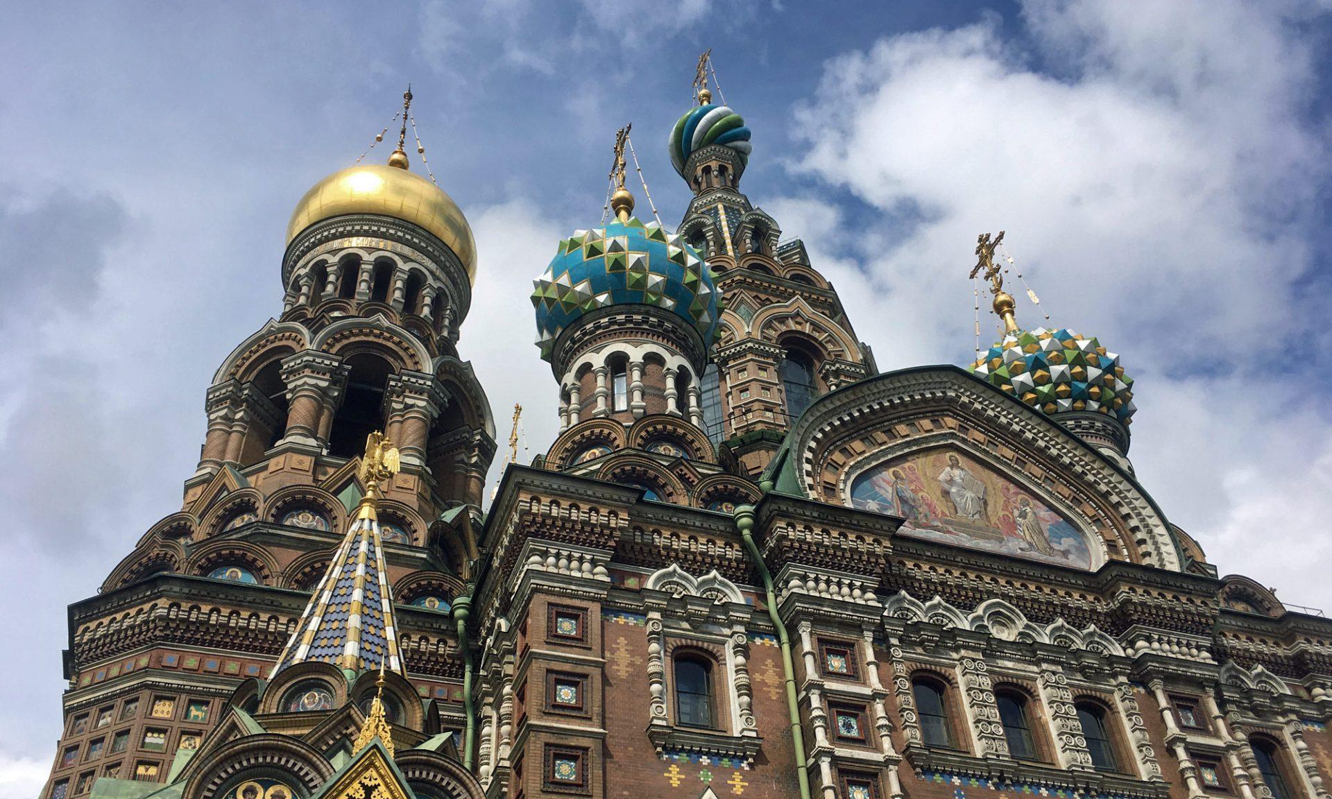 Blutkirche, Sankt Petersburg, Russland