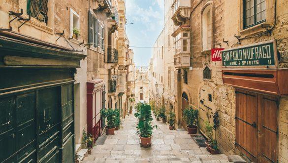 Vallettas Altstadt, Malta