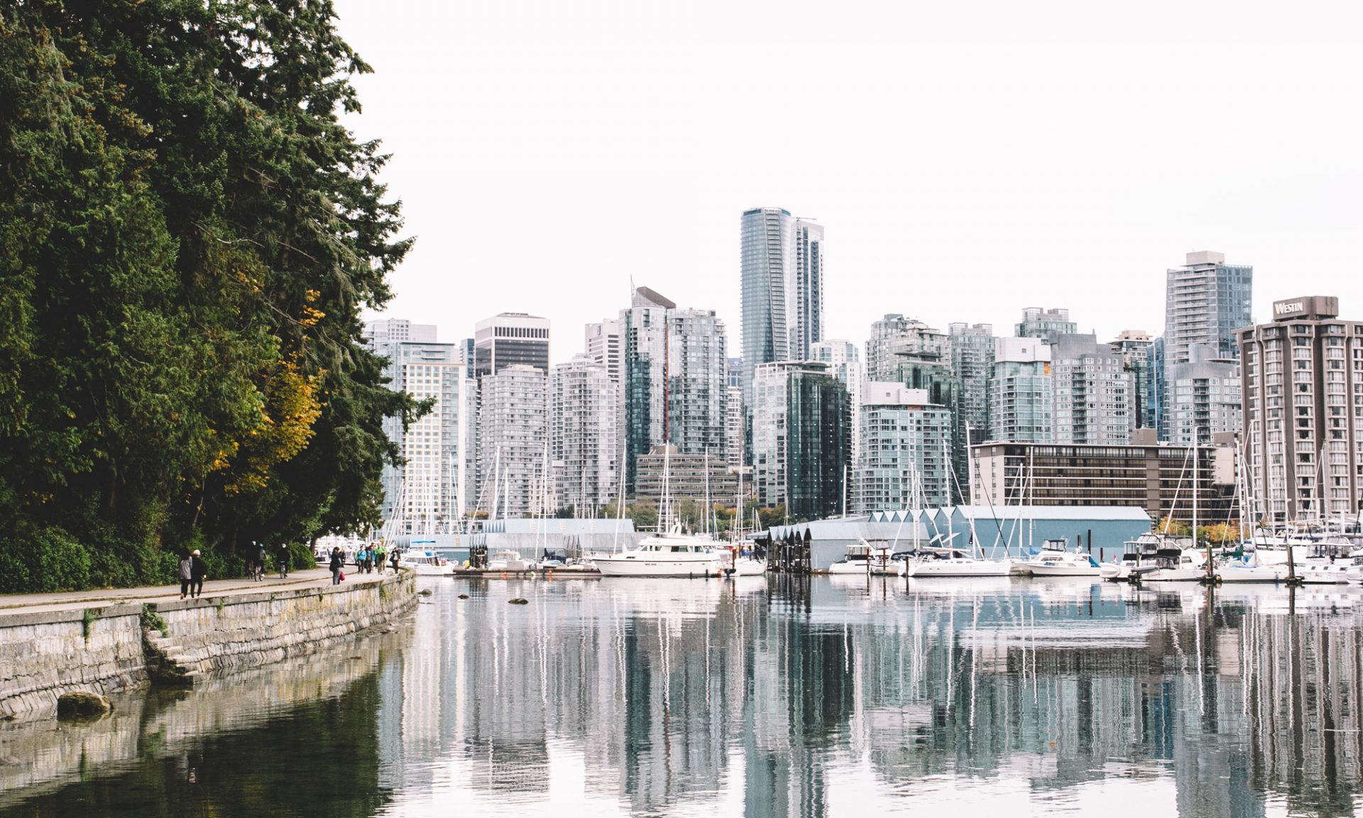 Stanley Park in Vancouver, Kanada