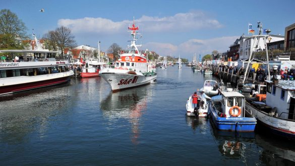 Alter Strom in Warnemünde